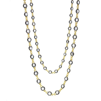 Image of Radiance Diamond by the Yard Wrap Necklaceby Freida Rothman