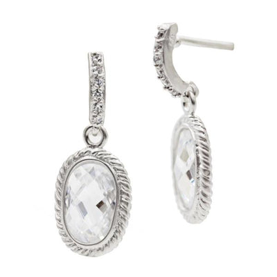Image of Tiny Raindrop Earrings by Freida Rothman