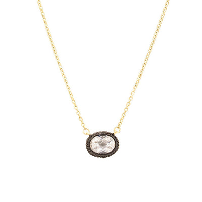 Image of Raindrop Pendant Necklace by Freida Rothman