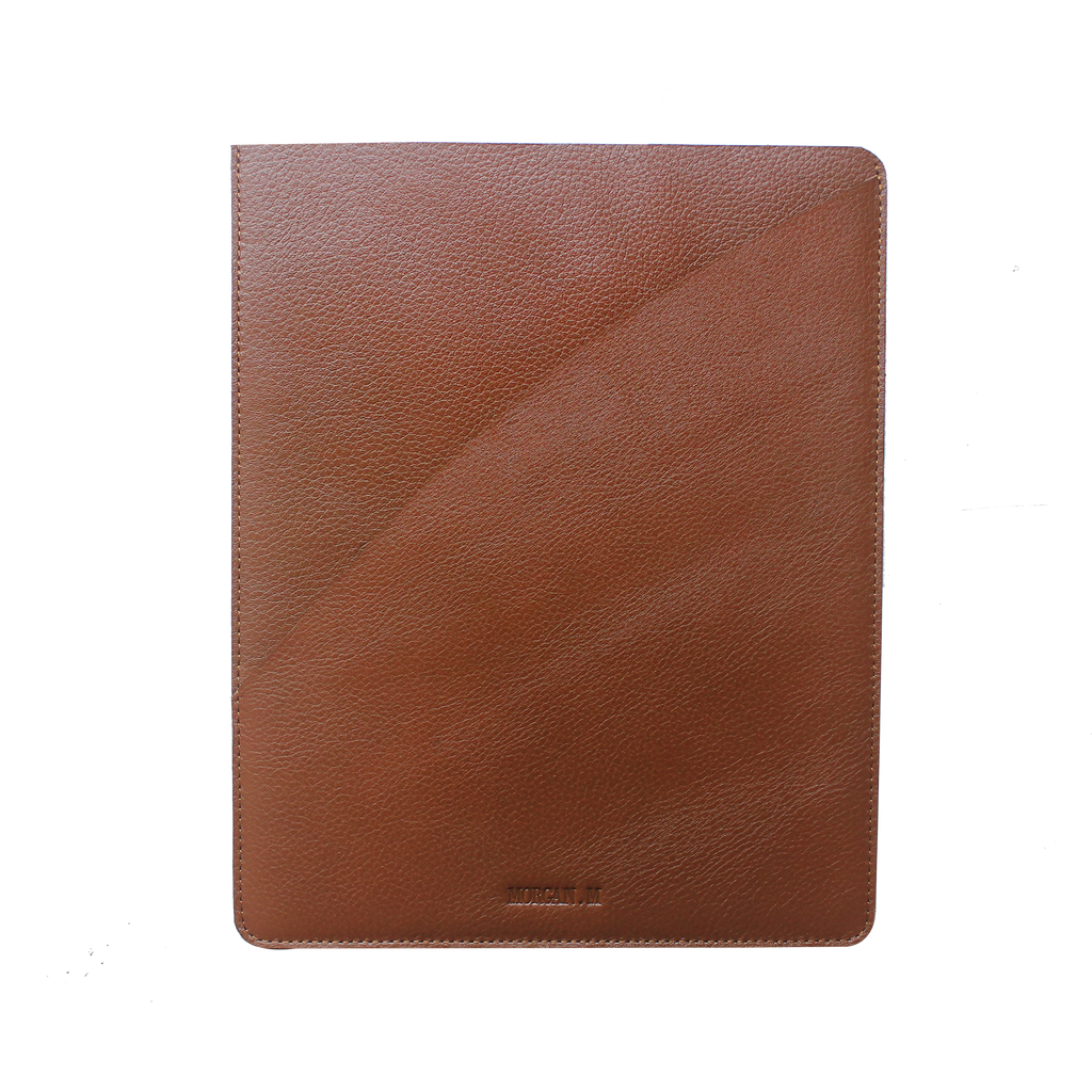 Tan leather document holder
