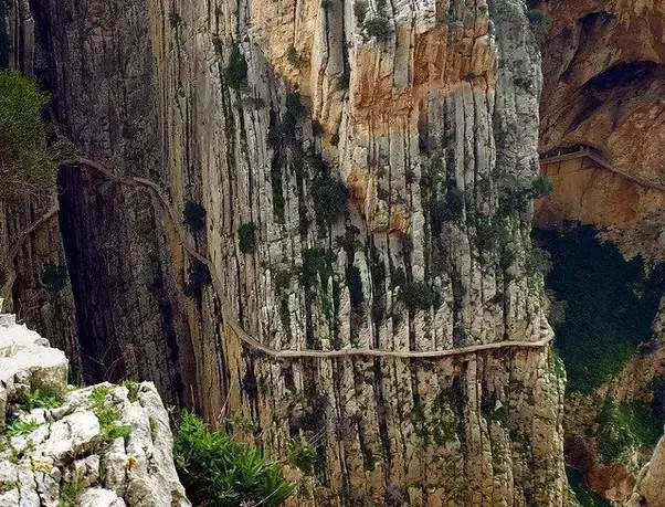 El caminito, del, Rey, El Chorro, Spain -- Pick your hiking backpack and conqure the top 10 hiking places Worldwide