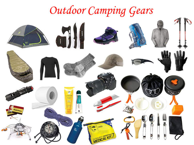 essential outdoor camping gears