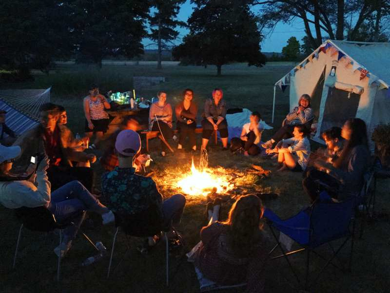 Outdoor Camping Trip Planning Complete Guidance -- Campfire activities