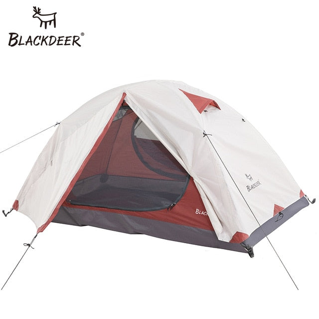 2P Backpacking Tent Outdoor Camping 4 Season Double Layer Waterproof Hiking Trekking Tent - Spocamp