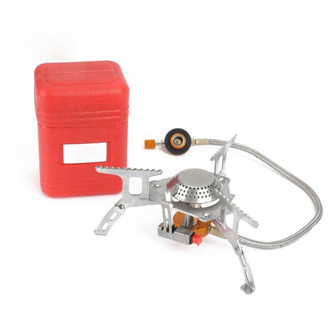 3000W Outdoor Camping Stove Gas burner Foldable Hiking Stove