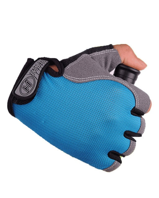 Anti Slip Cycling Gloves Breathable Half Finger Sports Bike Gloves