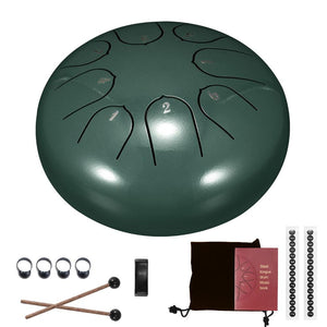 8-Tone Handmade Steel Tongue Drum Kit - Harmonix™