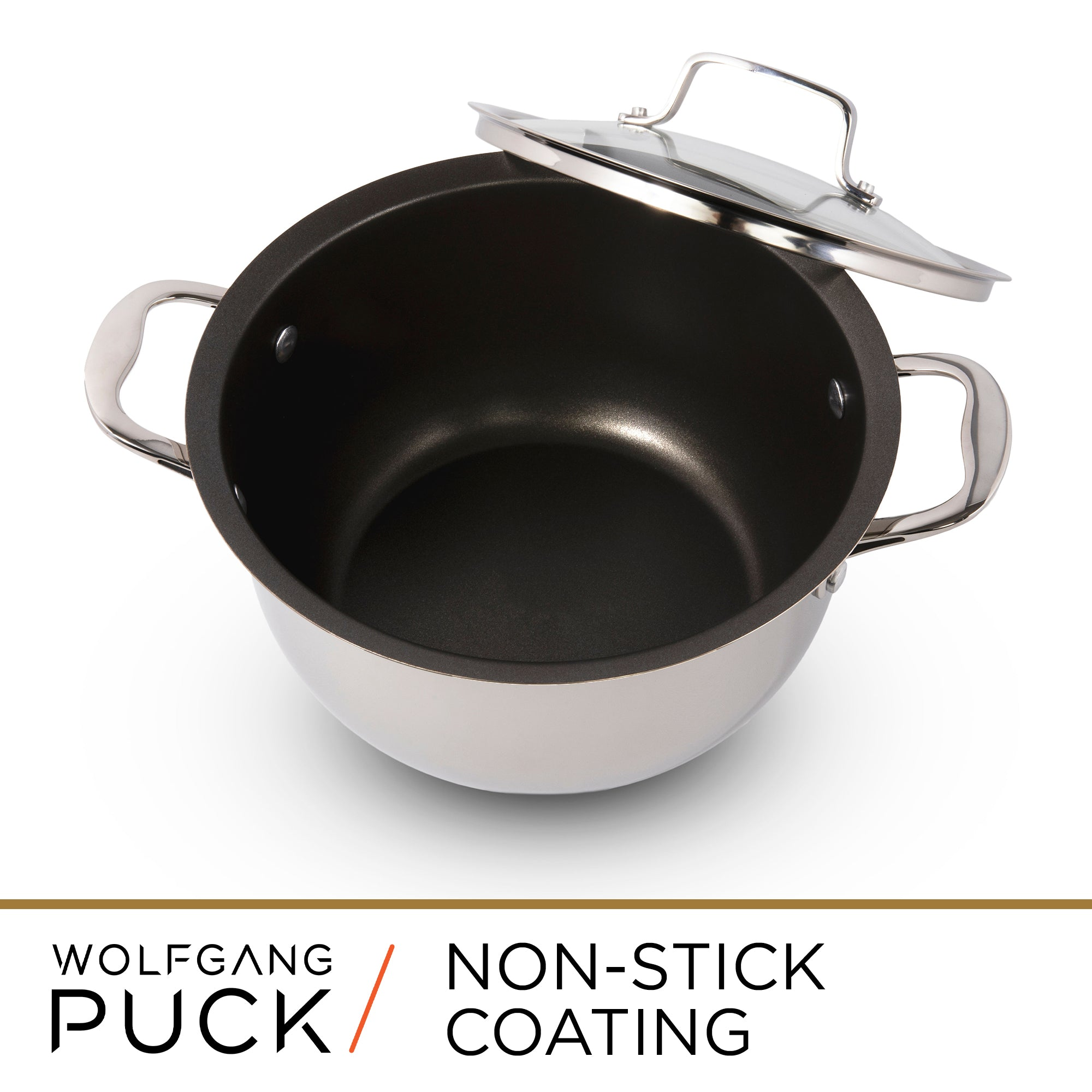 6-Piece Stainless Steel Pots and Pans