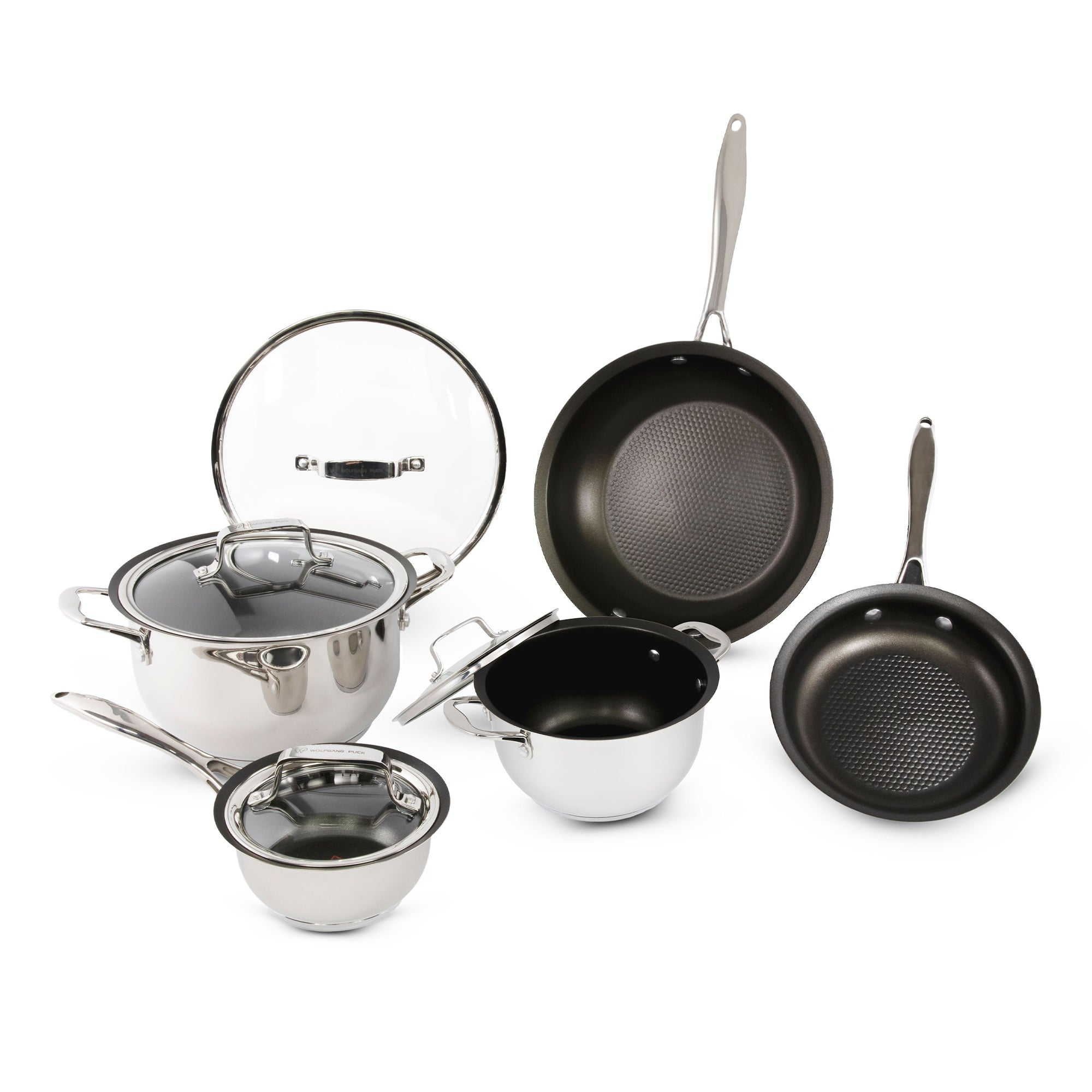 9-Piece Stainless Steel Cookware Set