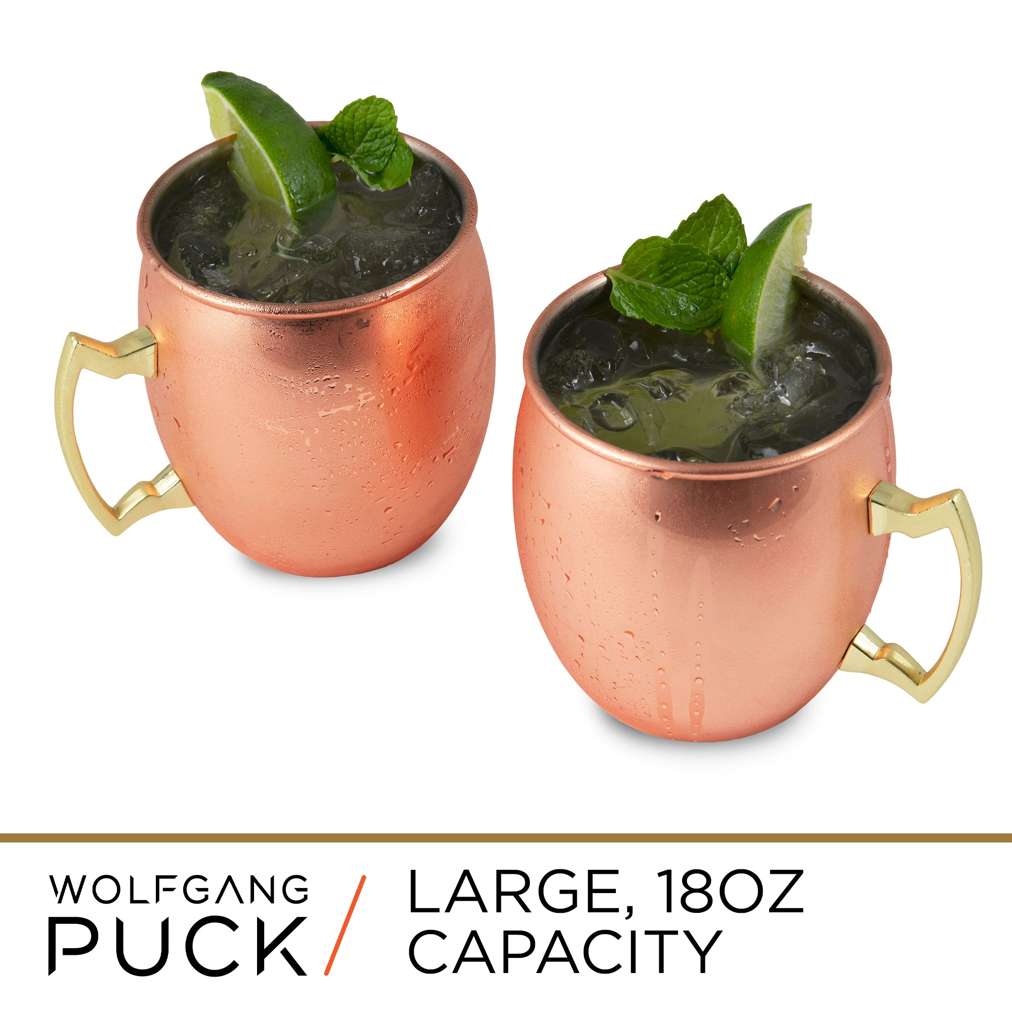Copper Mule Mugs - Set of 2