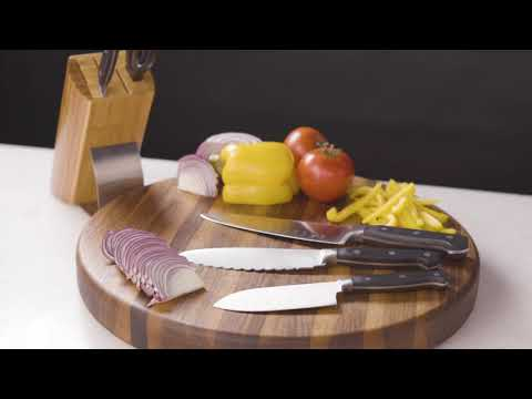 6-Piece Riveted Knife Set
