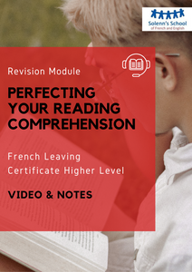French LC Revision Course: Perfecting Your Reading Comprehension