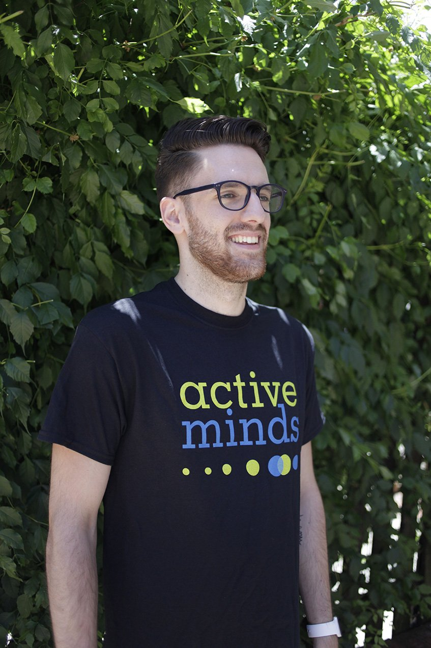 Active Minds Logo Tee