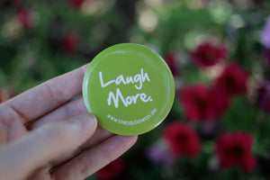 Laugh More Buttons