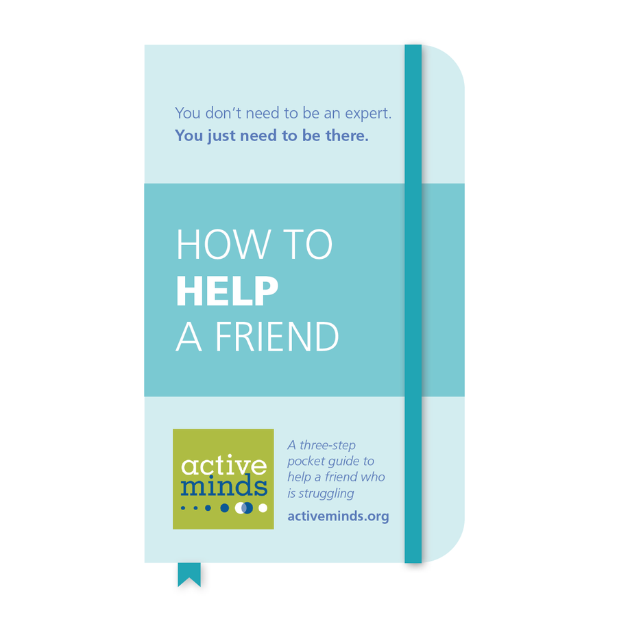 How to Help A Friend Brochure
