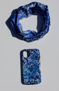 Blue Jazz Waves Phone Case