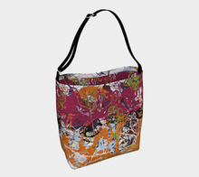 Load image into Gallery viewer, Sometimes Magenta Cross-Body Day Tote