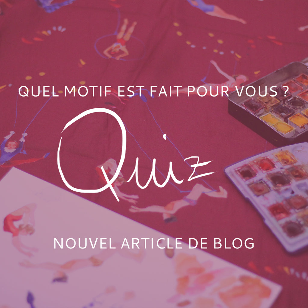 QUIZ Nouvelle collection !!