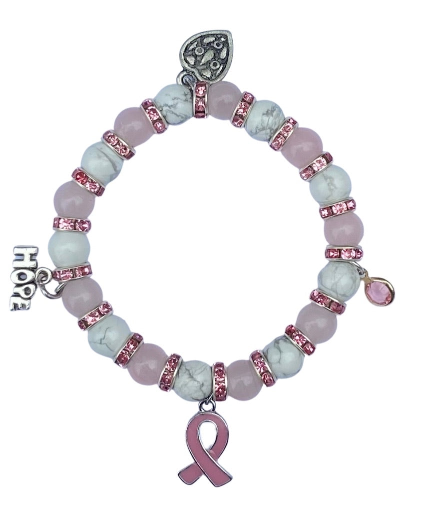 #NotjustOctober Breast Cancer Awareness Bracelet