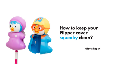 Flipper Care - How to clean your toothbrush cover