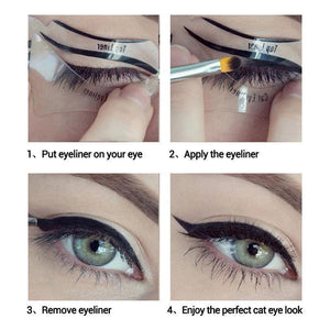 Eyeliner Stencil Kit - Beautiful Made Easy