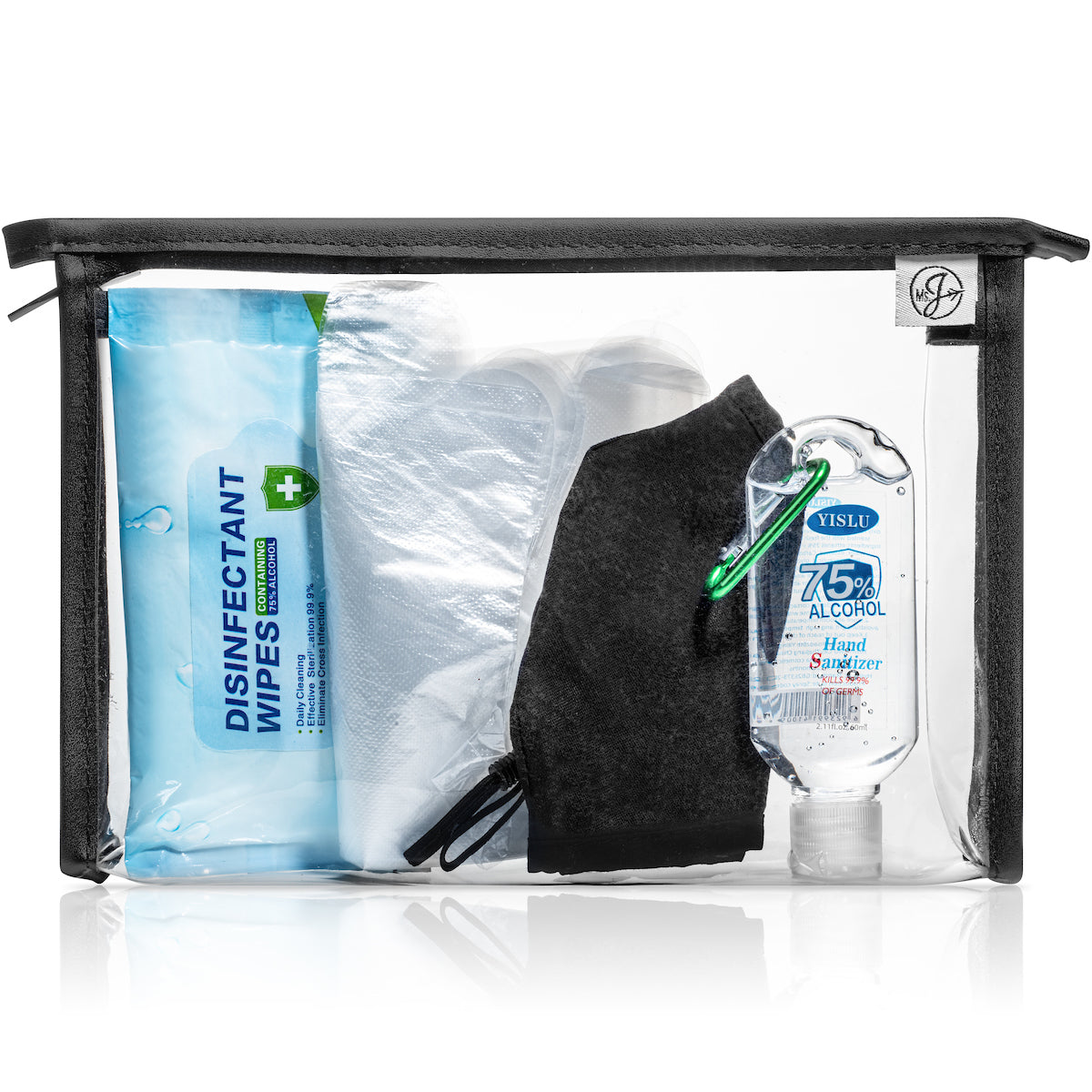 Ms. J Healthy Travel Kit | PPE Essentials | 3 Pack
