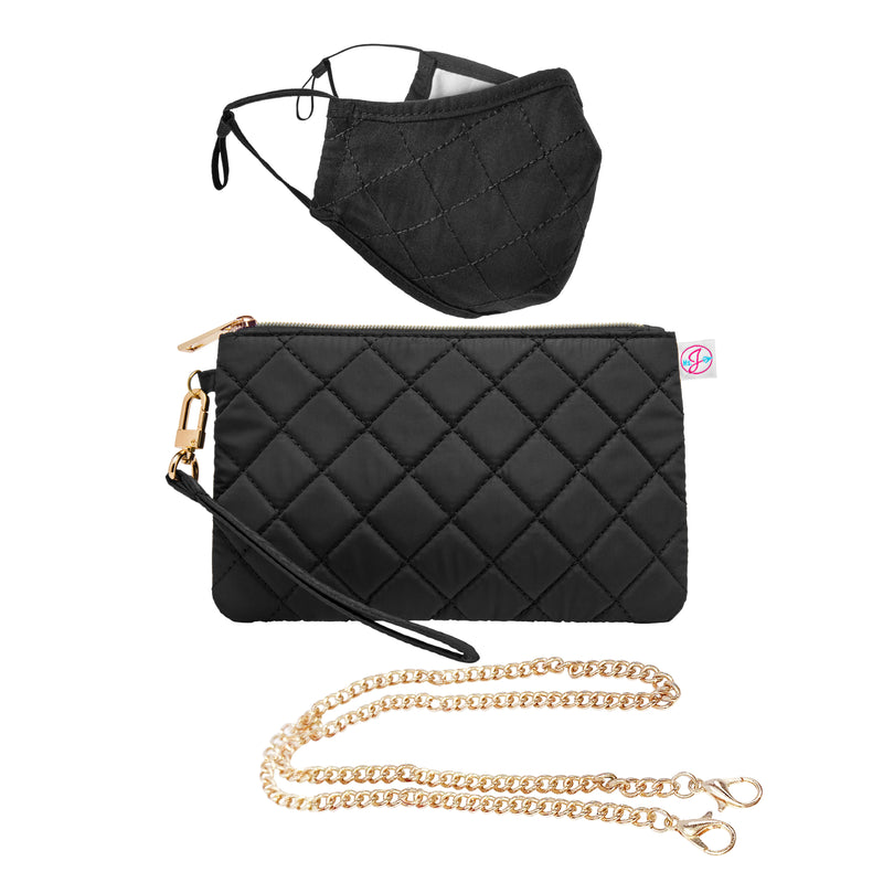 Ms. J Wristlet and Mask Set | 4 for $45