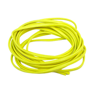 CORDON PLANO NEON CARRETE/3M color Amarill Neon