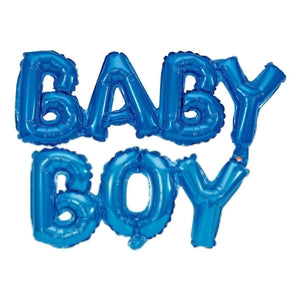 Art.2885 Globo Letrero Baby Boy/Girl