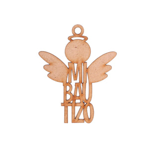 Art.4316 Llav Angel Bauti 7x5.5cm B/2pz
