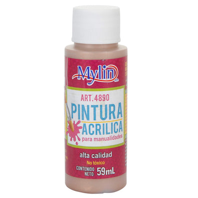 Fantasías Miguel Art.4890 Pintura Acrílica Mylin Color Metal 59ml 1pz