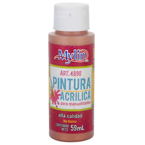 Art.4890 Pintura Acrílica Mylin Color Metal
