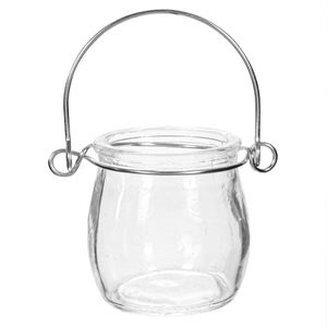 Art.6091 Vaso Para Tea Light Con Agarradera