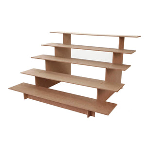 Art.6885 Base Escalera 5 Niveles Madera
