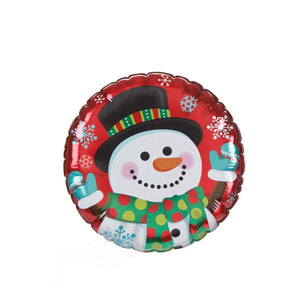 Art.7734 Calcomanía Decorativa Muñeco Nieve Globo