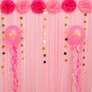 Fantasías Miguel Clave:EZ355 Decoración Baby Shower Rosa