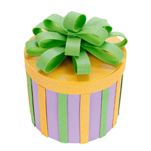 Caja De Regalo Redonda Baby Shower
