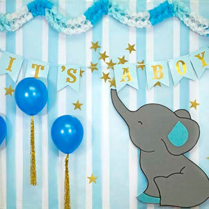 Decoracion Baby Shower Con Elefante