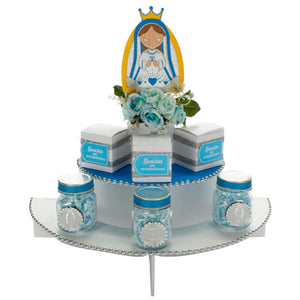 Despachador Virgen Azul/Blanco