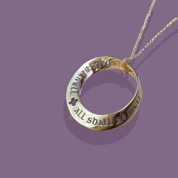 Gold All Shall Be Well Necklace
