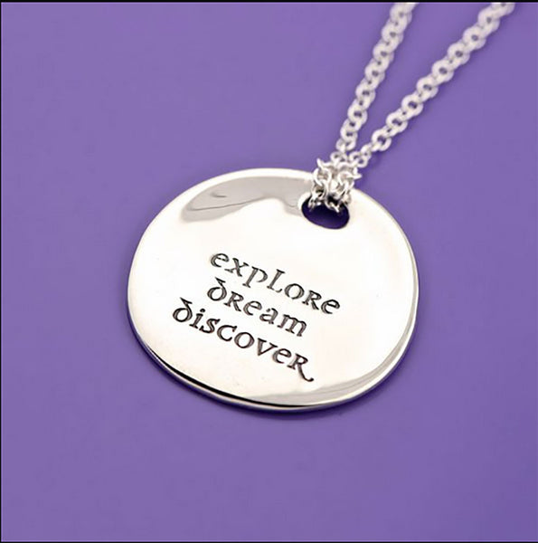 Explore Dream Discover Pebble