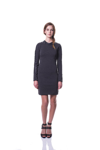 KIM MESCHES Long Sleeve Ponte Dress