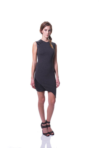 KIM MESCHES Sleeveless Asymmetric Dress