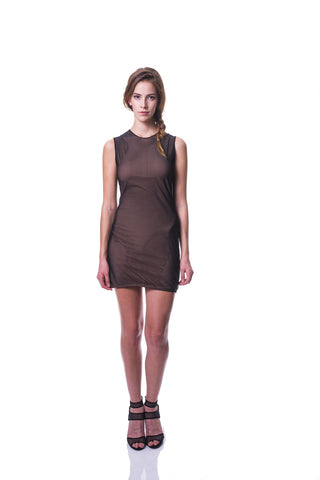 KIM MESCHES Black Net Dress