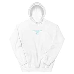 ONE PLANET Hoodie in White