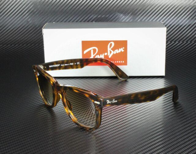 Ray-Ban Sunglass Square Style Brown Tortoise Frame color light Brown lens-RB4340-710/51