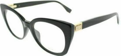 Fendi Eyeglass Cat Eye Style FF 0272 807 Black Color | Demo Lens