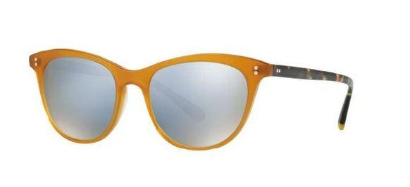 Oliver Peoples Sunglass - Cat Eye Style Amber Color Sunglass OV5276SU 1590/Y5 52mm