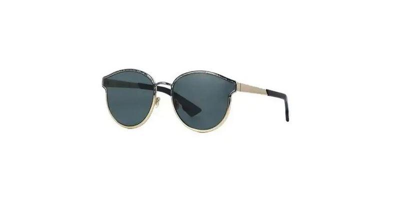 Christian Dior Sunglass - Round Style Black Marble Color DIORSYMMETRIC GBY/2K