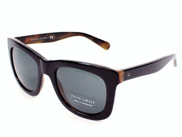 Ralph Lauren Sunglass Square Style Black Frame Color | RA5256